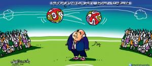 فلسطين - اسرائيل أكثر من صراع كروي